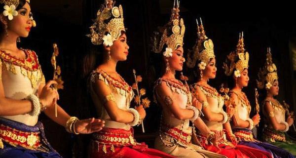 Apsara Danser, Siem Reap