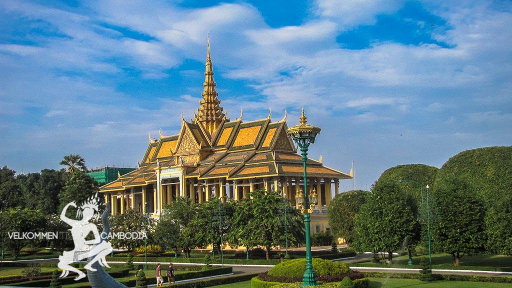Phnome Penh Cambodia Royale Palads